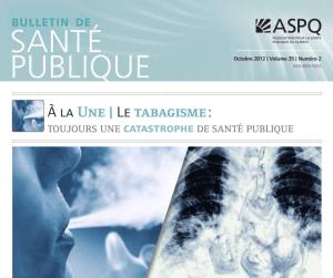 Le tabagisme: toujours une catastrophe de santé publique