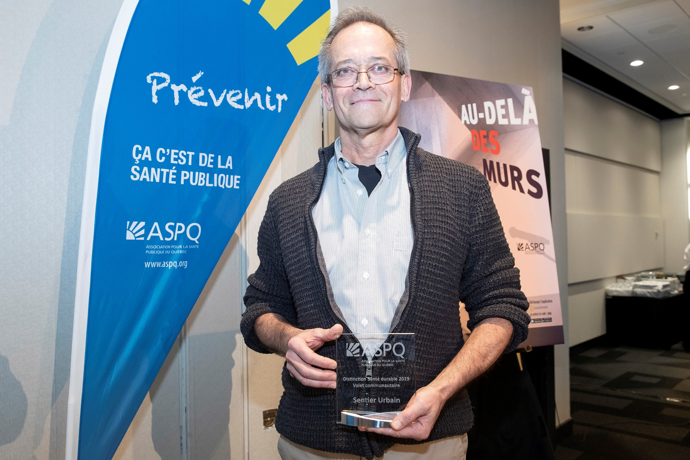 Sentier Urbain - Prix Distinction Santé durable – volet communautaire-2019
