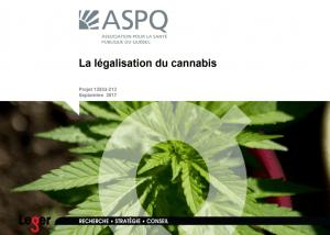 Sondage ASPQ-Léger – Légalisation du cannabis