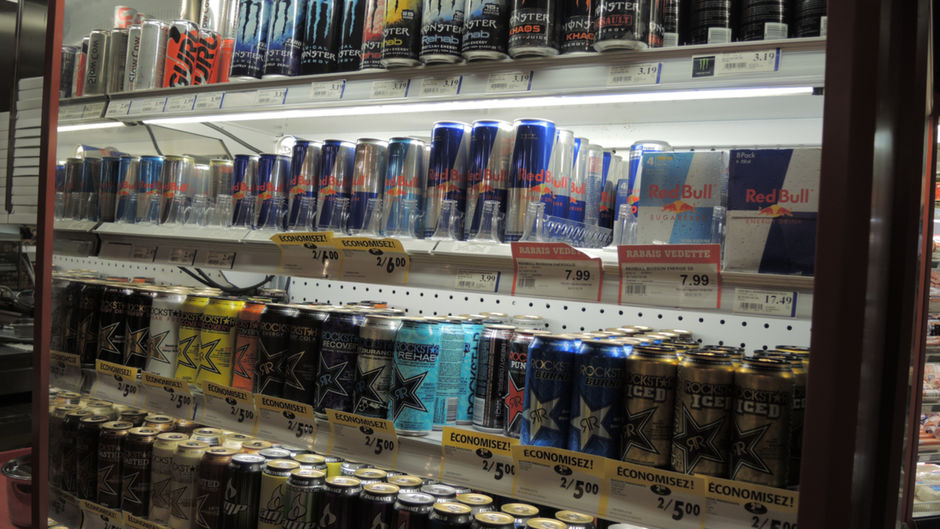 Lien entre boissons énergisantes et effort physique : irresponsable!