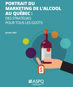 Portrait du marketing de l'alcool au Québec
