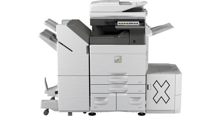 Une super affaire!50% de rabais sur une cession de bail de photocopieurMX-6070