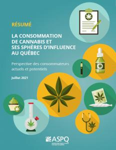 RÉSUMÉ – La consommation de cannabis et ses sphères d'influence au Québec : perspective des consommateurs actuels et potentiels